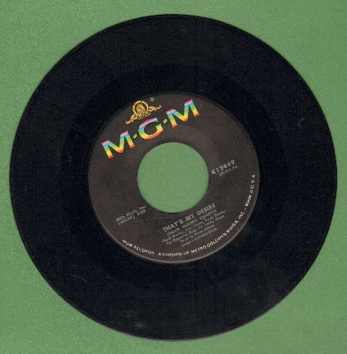Alaimo, Chuck Quartet - That's My Desire/Leap Frog (multi-color label 1960s pressing) - EX8/ - 45 rpm Records