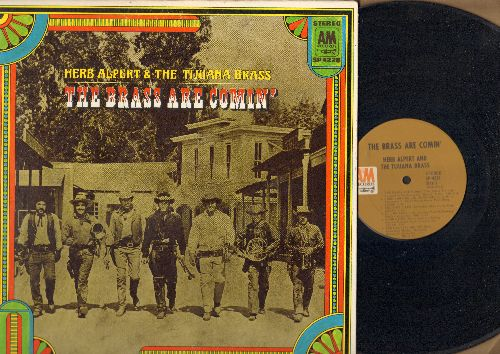 Alpert, Herb & The Tijuana Brass - The Brass Are Comin': Sunny, Moon River, I'm An Old Cowhand, The Maltese Melody (vinyl STEREO LP record, gate-fold cover) - NM9/NM9 - LP Records