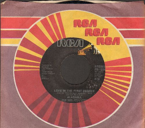 Alabama - Love In The First Degree/Ride The Train - NM9/ - 45 rpm Records