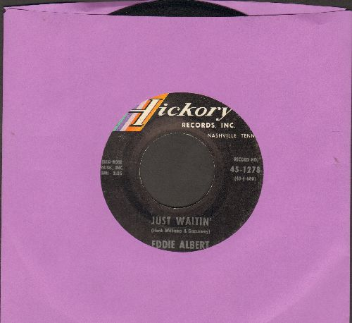 Albert, Eddie - Just Waitin'/Fall Away - EX8/ - 45 rpm Records