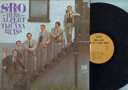 Alpert, Herb & The Tijuana Brass - S.R.O.: Our Day Will Come, Mame, Don't Go Breaking My Heart, Flamingo, The Wall Street Rag (vinyl MONO LP record) - EX8/EX8 - LP Records