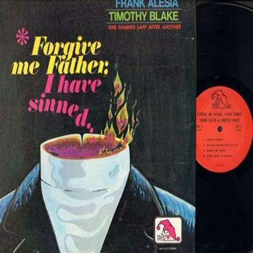 Alesia, Frank, Timothy Blake - Forgive Me Father, I Have Sinned…One Damned Laff After Another (vinyl STEREO LP record) - NM9/NM9 - LP Records