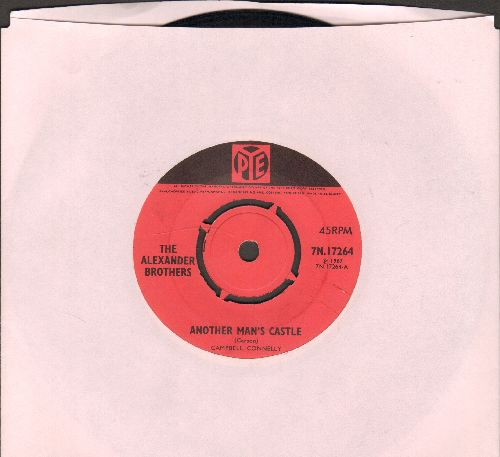Alexander Brothers - Another Man's Castle/Blue Side Of Lonesome (British Pressing with removable spindle-adpter) - EX8/ - 45 rpm Records