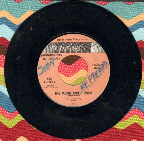 Aleong, Aki - The Moon River Twist/Tonight (Twist) (wol) - VG7/ - 45 rpm Records