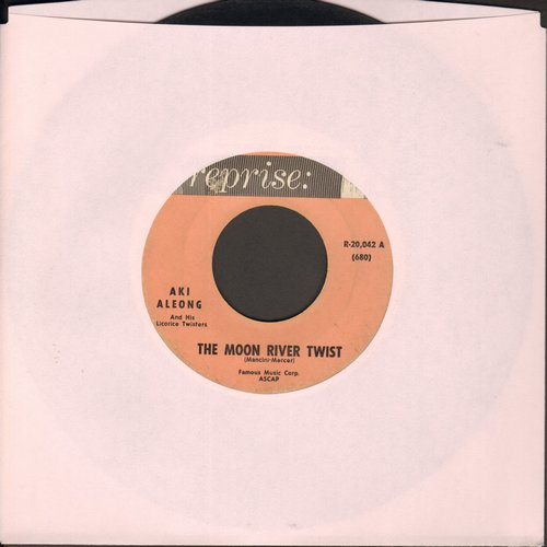 Aleong, Aki - The Moon River Twist/Tonight (Twist) - VG7/ - 45 rpm Records