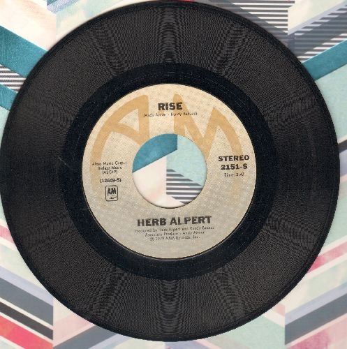 Alpert, Herb - Rise/Aranjuez (Mon Amour)  - VG7/ - 45 rpm Records
