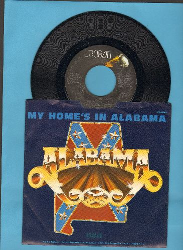 Alabama - Tennessee River/Can't Forget About You (with picture sleeve) - EX8/NM9 - 45 rpm Records