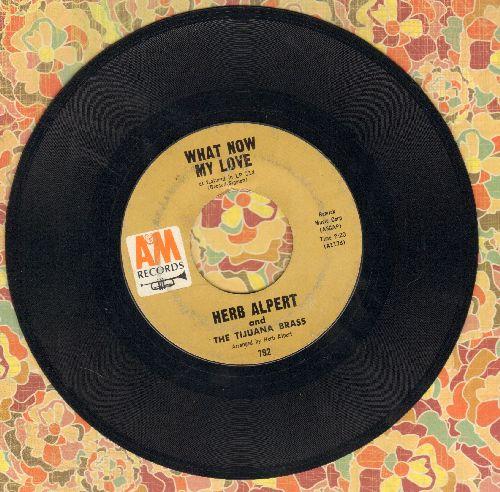 Alpert, Herb & The Tijuana Brass - What Now My Love/Spanish Flea  - VG7/ - 45 rpm Records