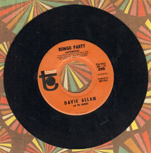 Allan, Davie - Blue's Theme/Bongo Party - EX8/ - 45 rpm Records