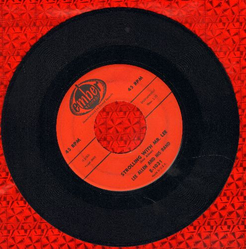 Allen, Lee & His Band - Strollin' With Mr. Lee/Promenade  - NM9/ - 45 rpm Records