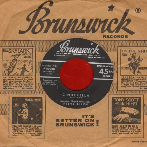 Allen, Steve - Cinderella (RARE Novelty re-telling of the Brother's Grimm Fairy Tale in