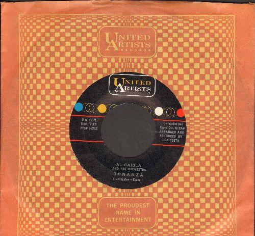 Caiola, Al - Bonanza/Bounty Hunter (with United Artists company sleeve) - EX8/ - 45 rpm Records