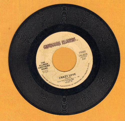 Allman Brothers Band - Crazy Love/Just Ain't Easy - NM9/ - 45 rpm Records