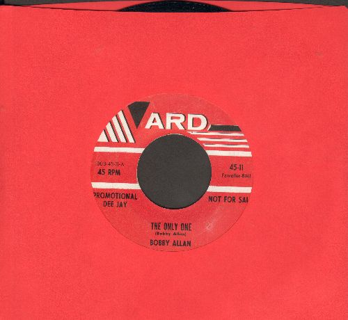 Allan, Bobby - The Only One (double-A-sided DJ advance pressing) - EX8/ - 45 rpm Records
