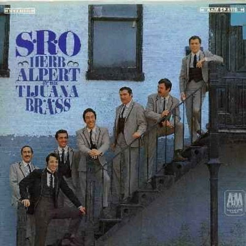 Alpert, Herb & The Tijuana Brass - S.R.O.: Our Day Will Come, Mame, Don't Go Breaking My Heart, Flamingo, The Wall Street Rag (vinyl STEREO LP record) - NM9/EX8 - LP Records