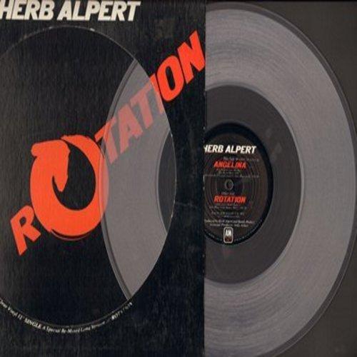 Alpert, Herb - Angelina/Rotation (12 inch Maxi Single, RARE Clear Vinyl Pressing) - NM9/ - LP Records