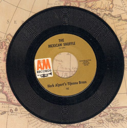 Alpert, Herb & The Tijuana Brass - What Now My Love/Spanish Flea  - EX8/ - 45 rpm Records
