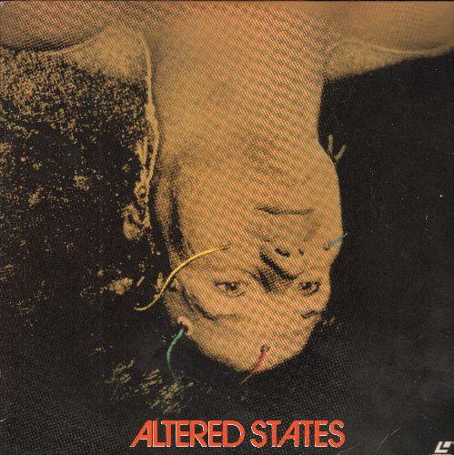 Altered States - Altered States Laser Disc Starring William Hurt - NM9/EX8 - Laser Discs