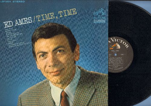 Ames, Ed - Time, Time: Something Stupid, Sunrise Sunset, Cabaret, Michelle, What The World Needs Now Is Love (vinyl STEREO LP record) - NM9/NM9 - LP Records