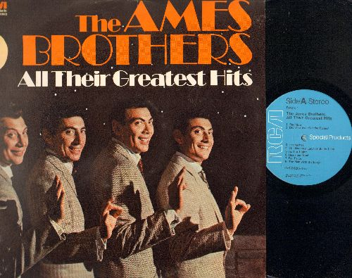 Ames Brothers - All Their Greatest Hits: Rag Mop, Heart & Soul, Heartaches, Undecided, You You You, Loch Lomont (2 vinyl STEREO LP records, RCA Special Products Series) - NM9/NM9 - LP Records