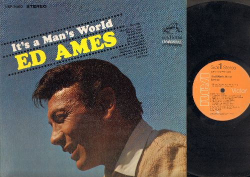 Ames, Ed - It's A Man's World: John Henry, Daniel Boone, Luck Be A Lady, Feeling Good, They Call The Wind Maria (vinyl STEREO LP record) - VG7/NM9 - LP Records