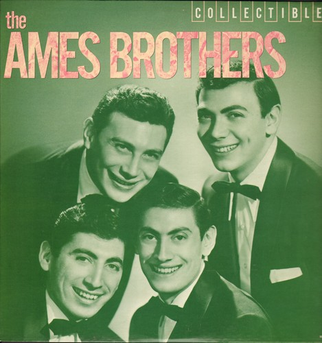 Ames Brothers - The Ames Brothers: Undecided, Rag Mop, Sentimenal Journey, Hoop-Dee-Doo, (Put Another Nickel In) Music! Music! Music! (vinyl LP record, 1982 issue of vintage recordings) - M10/NM9 - LP Records
