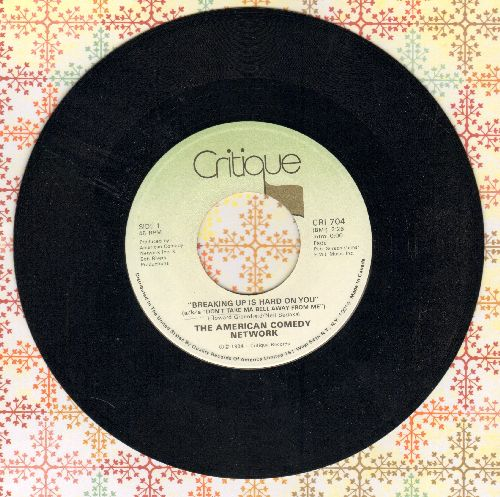 American Comedy Network - Breaking Up Is Hard To Do (a/k/a Don't Take Ma Bell Away From Me)/Krapco's Mr. Cardboard Tube -- Home Psychiatrist -- Gene Splitter  - NM9/ - 45 rpm Records
