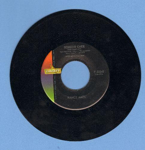 Ames, Nancy - Bonsoir Cher/Cu Cu rru Cu Cu Paloma - NM9/ - 45 rpm Records