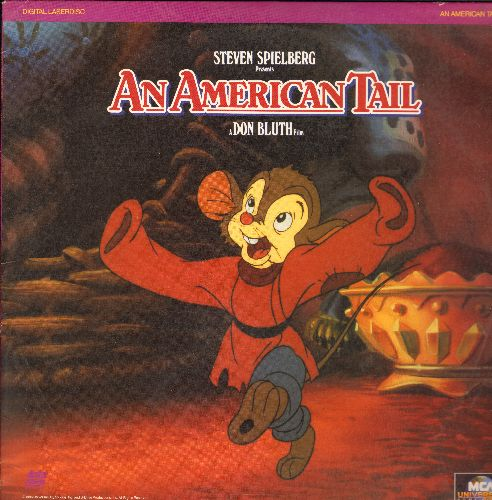 An American Tail - An American Tail Laser Disc by Steven Spielberg - NM9/EX8 - Laser Discs