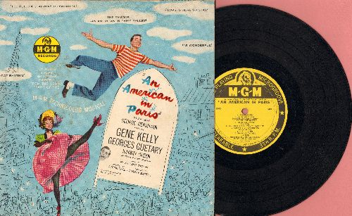 An American In Paris - An American In Paris - Music by George Gershwin, Sound Track starring Gene Kelly (10 inch vinyl LP record with picture cover) - VG7/VG7 - LP Records