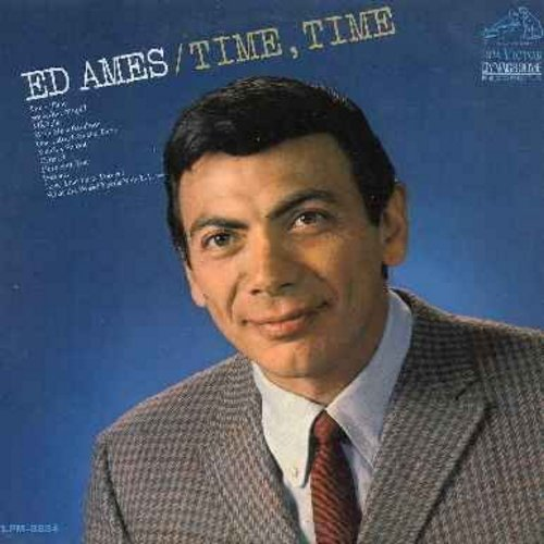 Ames, Ed - Time, Time: Something Stupid, Sunrise Sunset, Cabaret, Michelle, What The World Needs Now Is Love (vinyl MONO LP record) - NM9/NM9 - LP Records