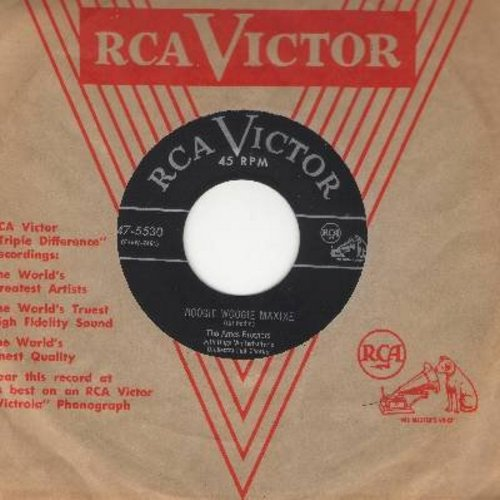 Ames Brothers - Boogie Woogie Maxixe/I Can't Believe That You're In Love With Me (with RCA company sleeve) - NM9/ - 45 rpm Records