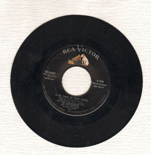 Ames Brothers - If You Wanna See Mamie Tonight/It Only Hurts For A Little While - EX8/ - 45 rpm Records