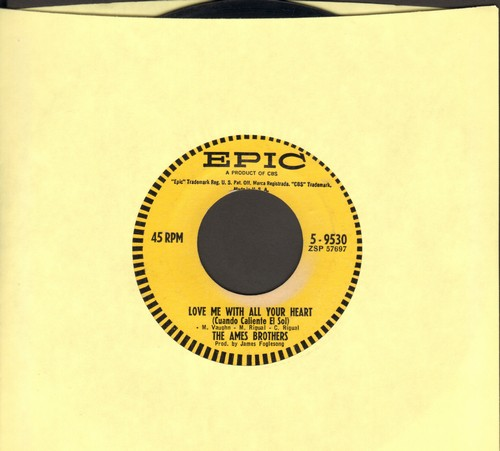 Ames Brothers - Love Me With All Your Heart/Love Is An Ocean Of Emotion - EX8/ - 45 rpm Records