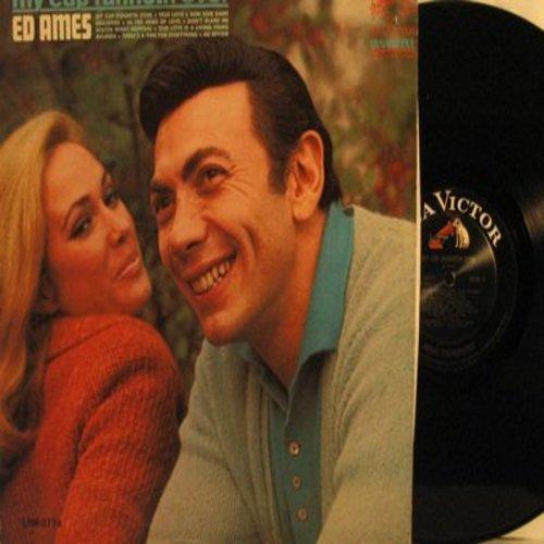 Ames, Ed - My Cup Runneth Over: True Love, Edelweiss, Melinda, Bon Soir Madame (vinyl MONO Dynagroove LP record) - NM9/EX8 - LP Records