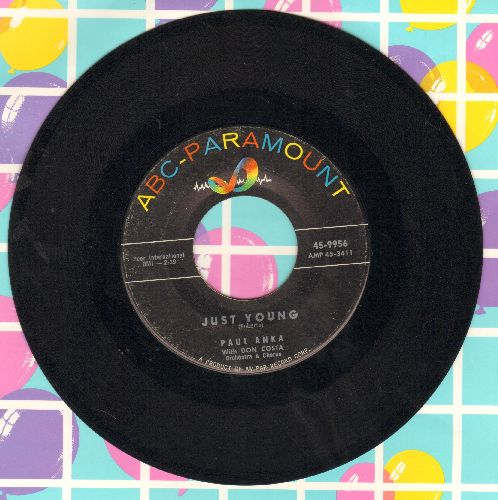 Anka, Paul - Just Young/So It's Goodby (sol) - EX8/ - 45 rpm Records