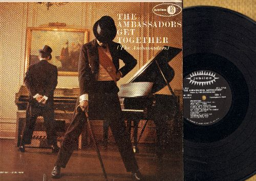 Ambassadors - The Ambassadors Get Together: Whispering, Cuddle Up A Little Closer, Caravan, Yes Sir! That's My Baby (vinyl MONO LP record) - VG7/NM9 - LP Records