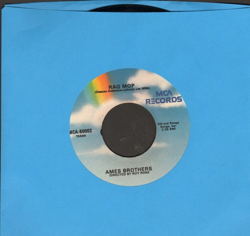 Ames Brothers - Rag Mop/Sentimental Me (re-issue) - M10/ - 45 rpm Records