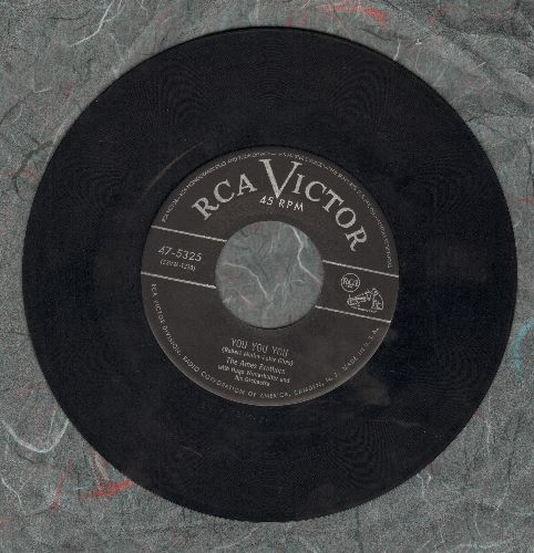 Ames Brothers - You You You/Once Upon A Tune  - VG7/ - 45 rpm Records