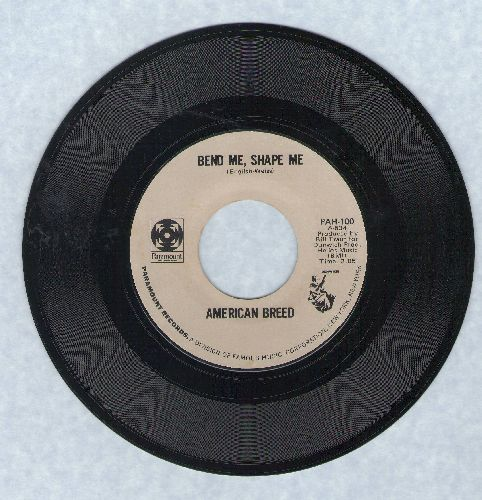 American Breed - Bend Me, Shape Me/Step Out Of Your Mind (early double-hit re-issue) - M10/ - 45 rpm Records