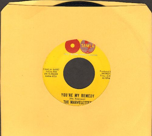 Marvelettes - You're My Remedy/A Little Bit Of Sympathy, A Little Bit Of Love - EX8/ - 45 rpm Records