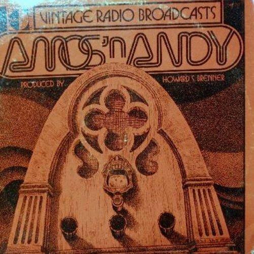 Amos & Andy - Amos & Andy - Vintage Radio Broadcasts(1970s issue of vintage radio recordings, vinyl MONO LP record) - NM9/VG6 - LP Records