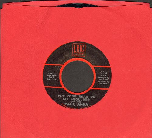 Anka, Paul - Put Your Head On My Shoulder/Summer's Gone (early re-issue) - NM9/ - 45 rpm Records