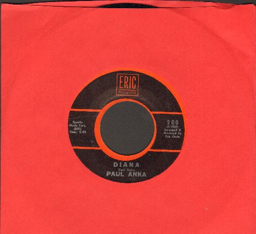 Anka, Paul - Diana/Don't Gamble With Love (1970s re-issue) - EX8/ - 45 rpm Records