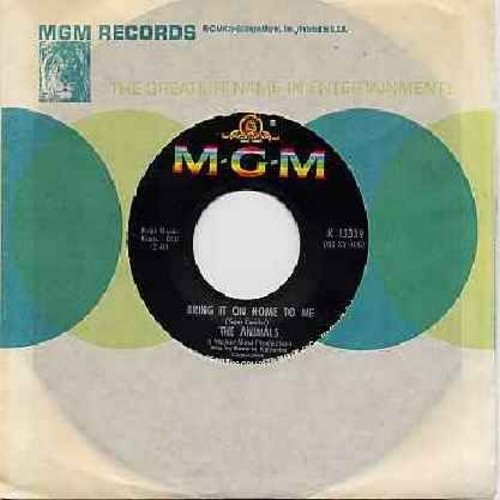 Animals - Bring It On Home To Me/For Miss Caulker (with MGM company sleeve) - EX8/ - 45 rpm Records