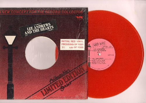 Andrews, Lee & The Hearts - Limited Collectors Edition Vol. 1 - 10 inch RED VINYL Mini-LP, with originl cover. Includes 6 tracks with original recordings - NM9/ - Maxi Singles