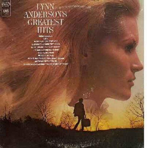 Anderson, Lynn - Greatest Hits: Rose Garden, Cry, Nothing Between Us, You're My Man, No Love At All (vinyl STEREO LP record) - NM9/EX8 - LP Records
