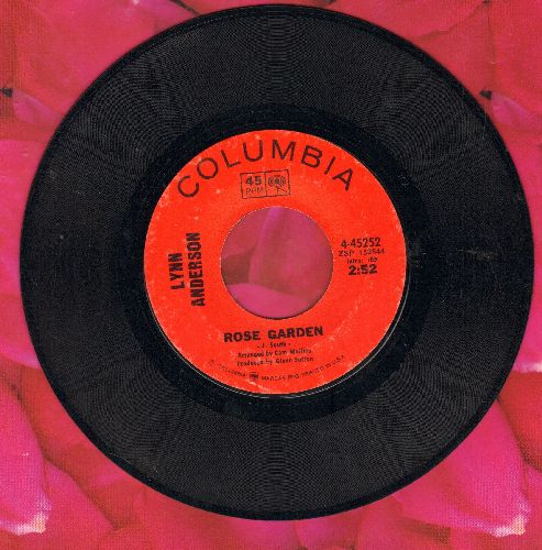Anderson, Lynn - Rose Garden/Nothing Between Us - EX8/ - 45 rpm Records