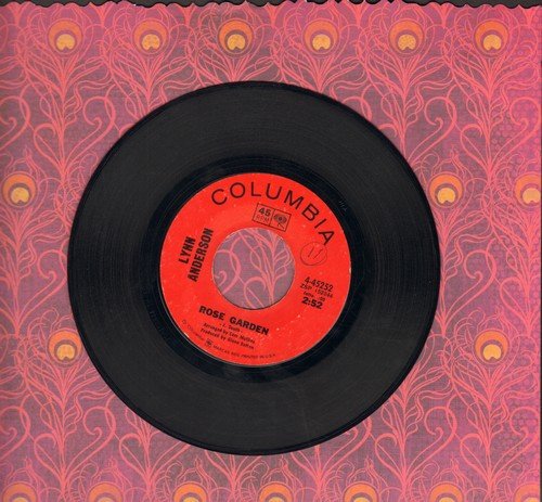 Anderson, Lynn - Rose Garden/Nothing Between Us (minor wol) - VG6/ - 45 rpm Records