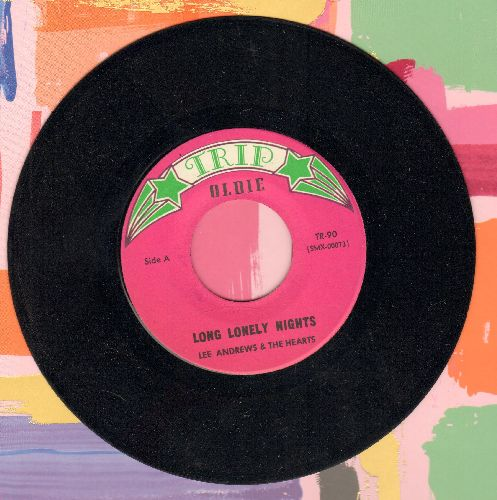 Andrews, Lee & The Hearts - Long, Lonely Nights/Try The Impossible (early double-hit re-isuse) - NM9/ - 45 rpm Records